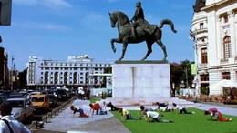 , 'Soft Power - Sculptural Additions to Petersburg Monuments,' 2014, International Manifesta Foundation