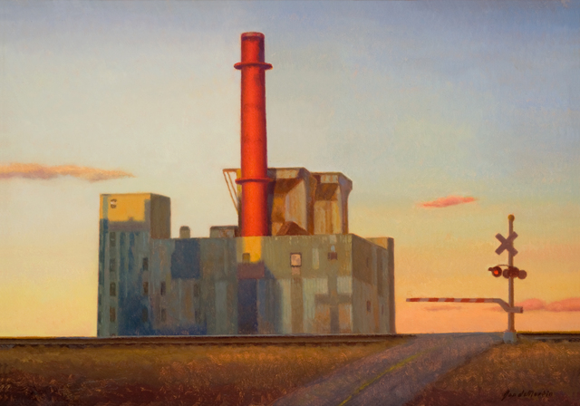 , 'Factory by the Railroad,' 2011, Gallery 1261