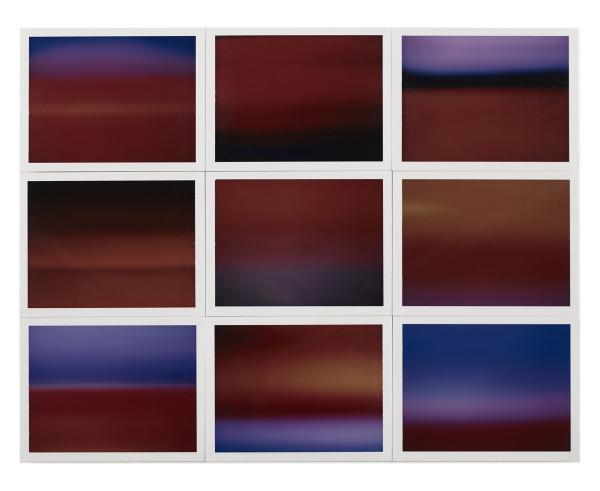 , 'Horizon, étude couleur #6,' 2015, Galerie Thierry Bigaignon