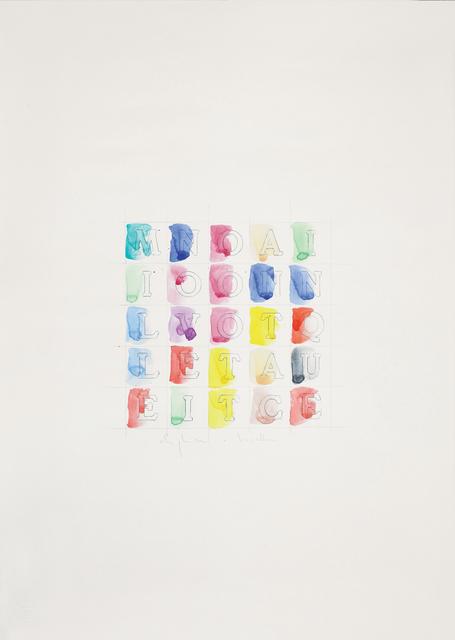 , 'Senza titolo (Millenovecentottantacinque),' 1985, Dep Art