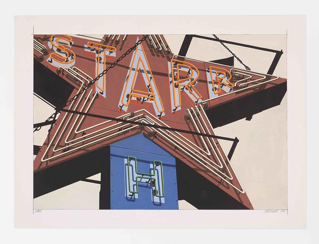 , 'Starr,' 1988, Somerville Manning Gallery