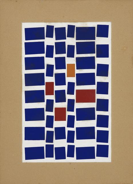, 'Metaesquema, Malekledrian,' 1958, Whitney Museum of American Art