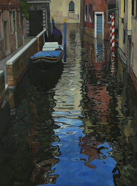 , 'Venice Canal Morning Reflection,' , Greenhut Galleries