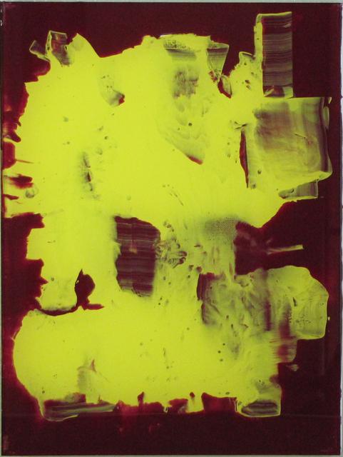 , 'Flecken, Streifen, Felder (gelbes Feld),' 2010, Galerie SOON