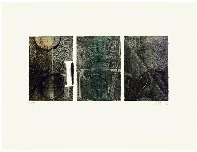 Jasper Johns, 'Voice 2', 1983, IPCNY: Benefit Auction 2019