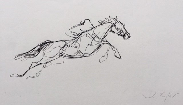 , 'Flying Horse,' 2018, Thompson's Galleries