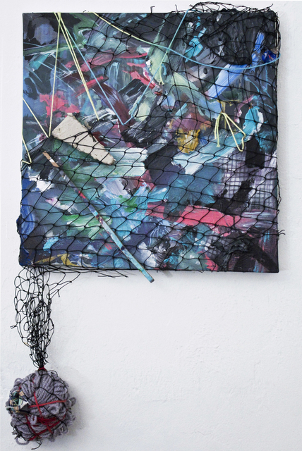 Clara Varas, 'Untitled (Netting)', 2014, Spinello Projects