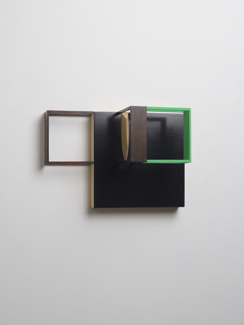 , 'Untitled (Black and Green),' 2014, Kristof De Clercq