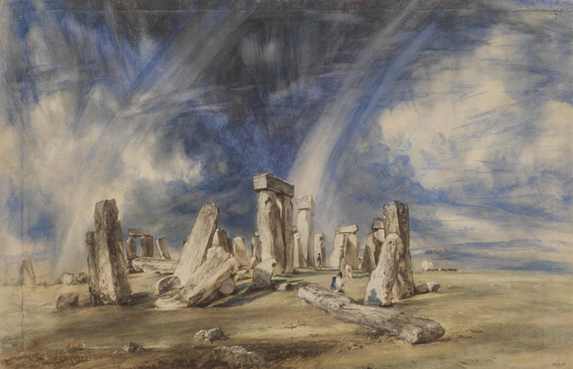 , 'Stonehenge,' ca. 1835, Victoria and Albert Museum (V&A)