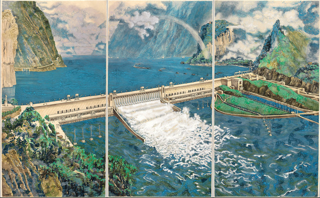 , 'Crying Landscape: Three Gorges Dam 会叫的风景,' 2002, The Metropolitan Museum of Art