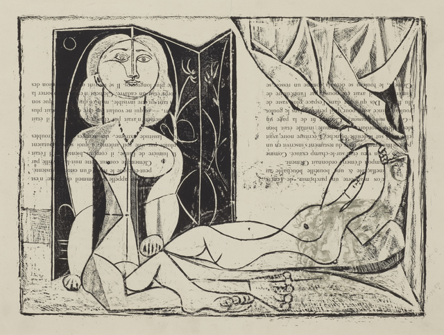 Pablo Picasso, 'Les Deux Femmes nues, State 13, 25th January 1946', 1946, Cristea Roberts Gallery