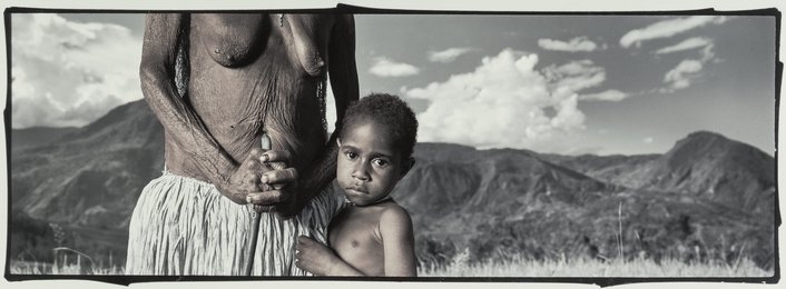 Milique and Yasmina (Noragara, Irian Jaya), from the series 'Enduring Spirit,'