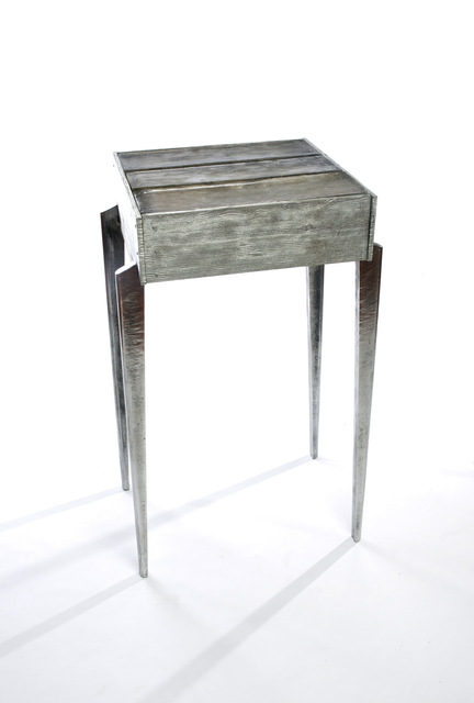 , 'Aluminum Shack Side Table,' 2017, Wexler Gallery
