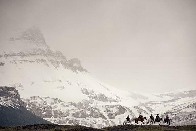 , 'III 193Parque National Los Glaciares, Cerro Pietrobelli, Patagonia Argentina - Gauchos, Argentina,' 2010, Willas Contemporary
