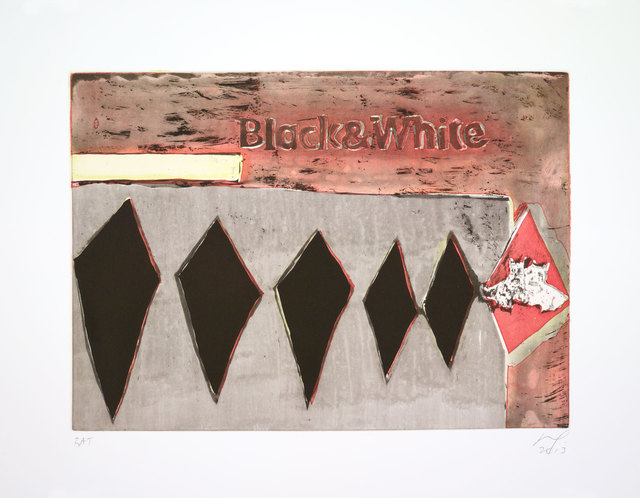 , 'Black & White,' 2013, Two Palms