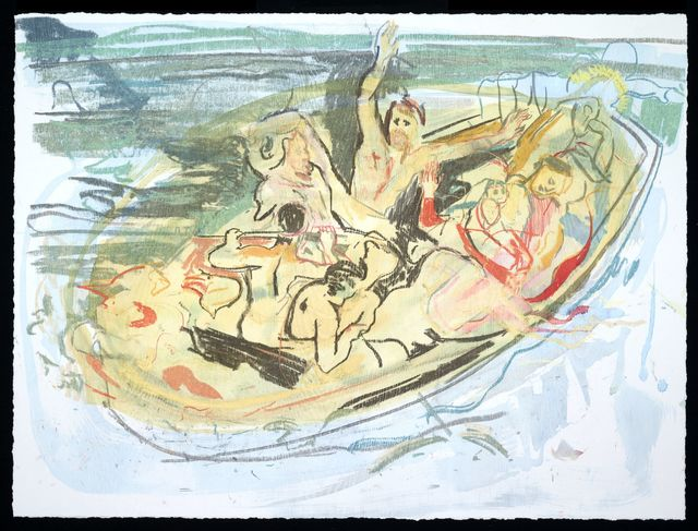 Cecily Brown, 'Christ Asleep During the Tempest (After Delacroix)', 2016, Two Palms