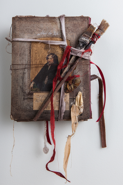 , 'Self Portrait Book of Anthony Van Dyck,' 2015, Slete Gallery