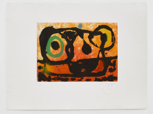 Joan Miró, 'Tête au Soleil Couchant', 1967, Alan Cristea Gallery
