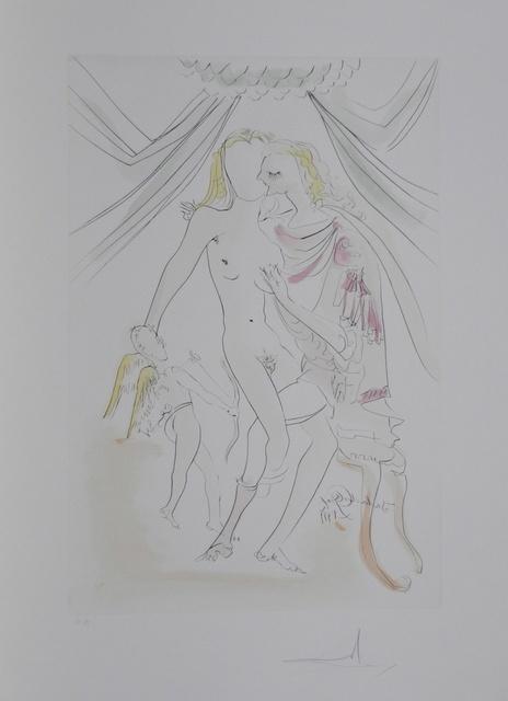 Salvador Dalí, 'Hommage a Albrecht Durer Vrnus, Mars et Cupidon', 1971, Fine Art Acquisitions