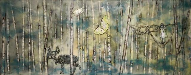 , 'Luna in the Forest,' 2017, J. Pepin Art Gallery