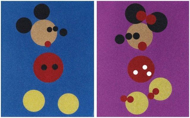 Damien Hirst, 'Mickey and Minnie (Large)', 2016, Pop Fine Art