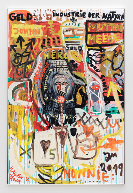 Jonathan Meese, 'AHAB'S NULL IST FULL!', 2019, Sies + Höke