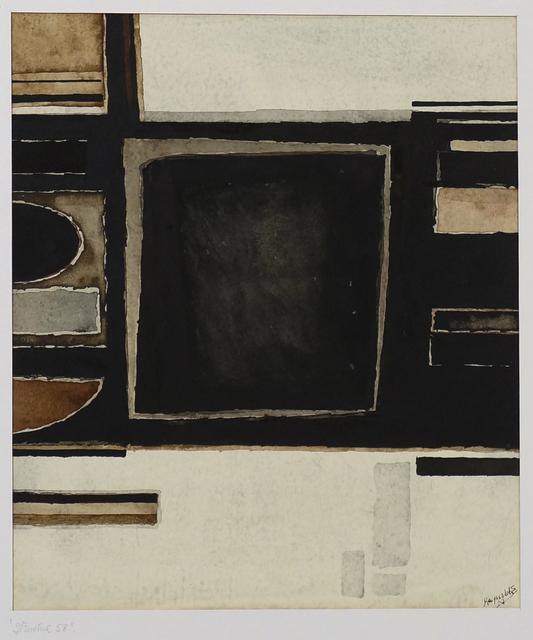 Alan Reynolds, 'Structure 58', 1958, Annely Juda Fine Art