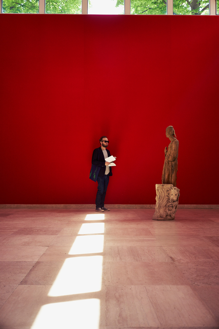 , 'Ο Θεός μαύρο (Installation view),' 2015, 56th Venice Biennale