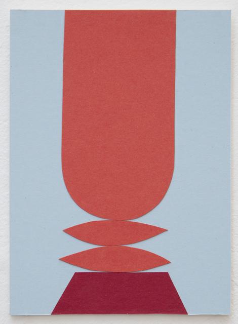 , 'Untitled (Red Totem),' 2018, Ani Molnár Gallery