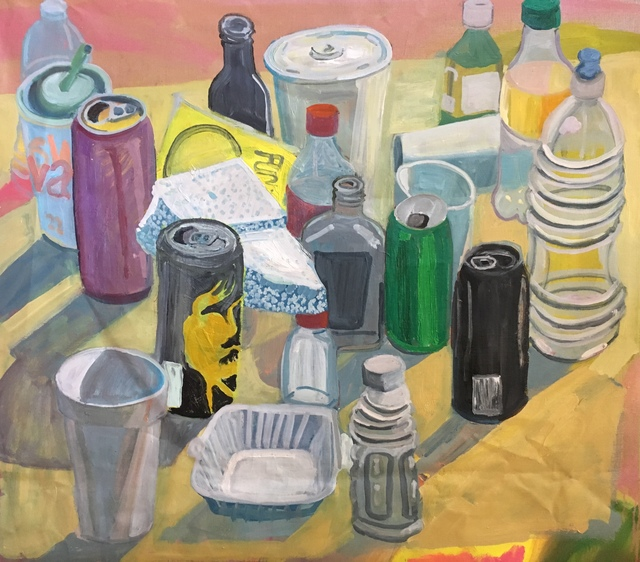 , 'Cups, Cans, Bottles, and Funyuns,' 2018, Mindy Solomon Gallery