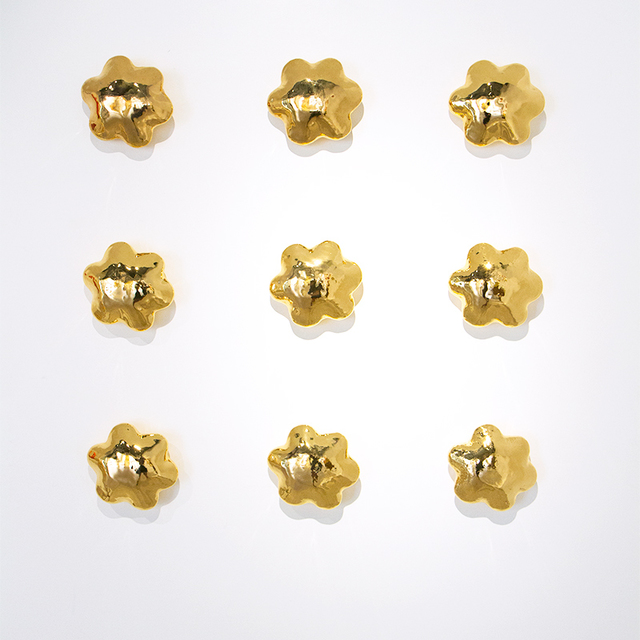 , 'Wall Flowers - Yellow Gold Cluster,' , CODA Gallery