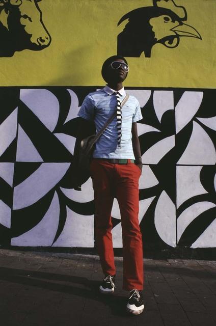 , 'kepi in newtown,' 2006, Afronova
