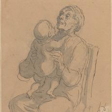 Honoré Daumier, 'The Grandmother', National Gallery of Art, Washington, D.C.