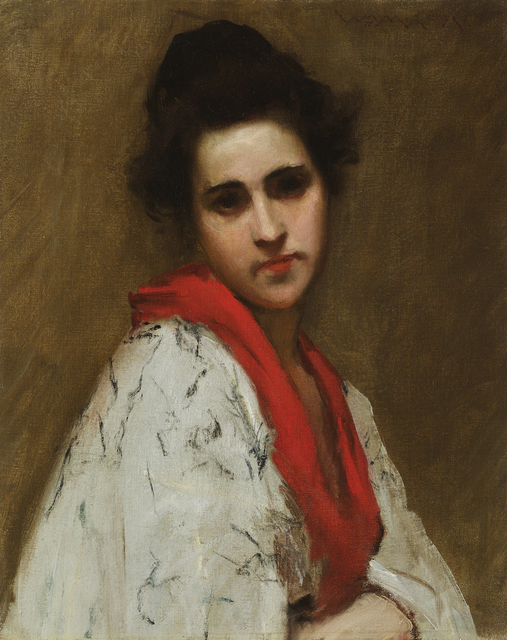 , 'Portrait of a Woman (Lady in Kimono),' ca. 1890, Debra Force Fine Art