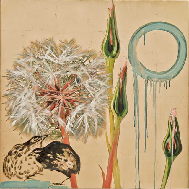 Hung Liu, 'Dandelion with Birds II', Gail Severn Gallery