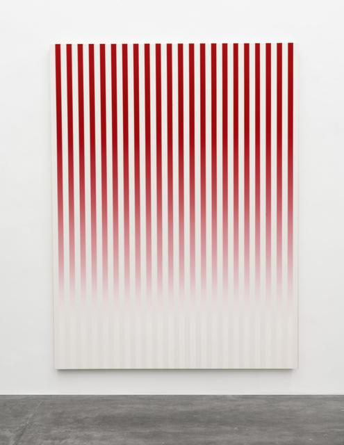 Philippe Decrauzat, 'Slow Motion Red # 1', 2019, Galeria Nara Roesler