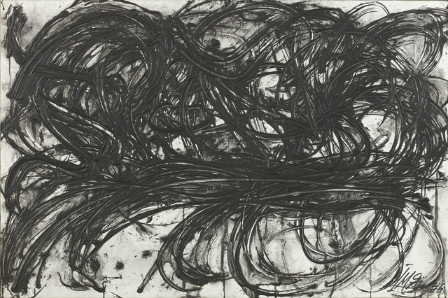 Toshimitsu Imai, 'Untitled', 1976, Painting, Acrylic on paper mounted on canvas, Gregg Baker Asian Art