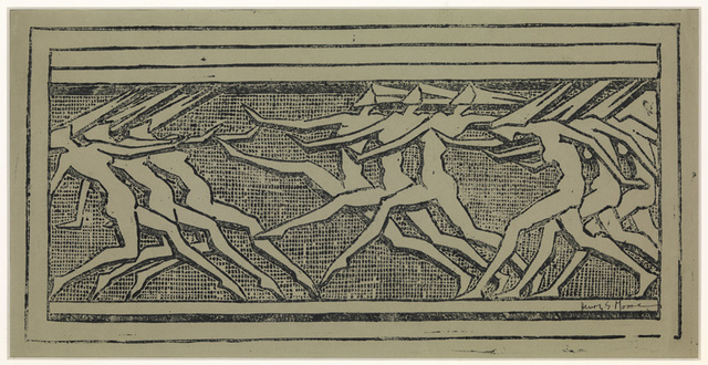 , 'Frieze of Dancing Figures,' 1921, Osborne Samuel