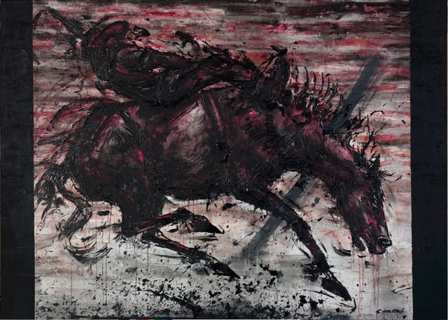 , 'Red Horse & Rider ,' 1985, Maddox Gallery