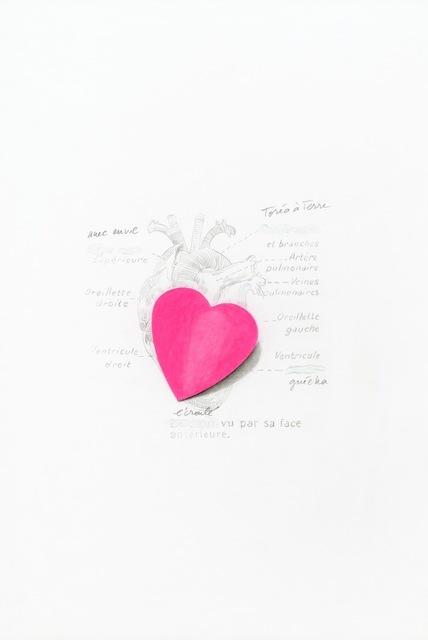 , 'Le coeur écroulé,' 2013, Alberta Pane
