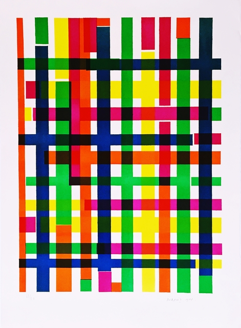 Piero Dorazio, 'Untitled Mid Century Modern Geometric Abstraction', 1967, Alpha 137 Gallery