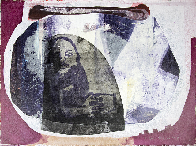 Virginia Chihota, 'Framed together', 2018, Drawing, Collage or other Work on Paper, Screenprint and mixed media on paper, Tiwani Contemporary