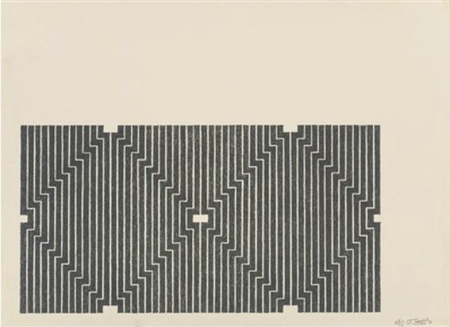 Frank Stella, 'Casa Cornu, from Aluminum Series', 1970, Gregg Shienbaum Fine Art