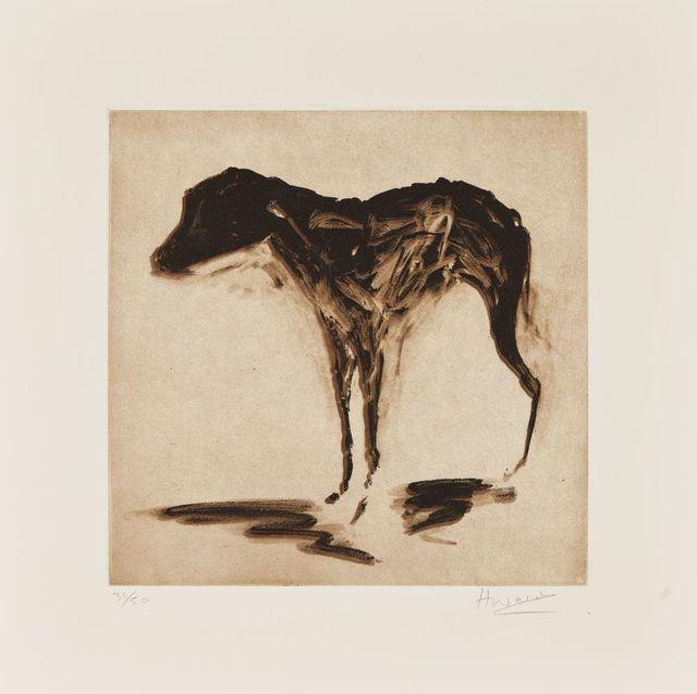 Rachel Howard, 'Black Dog', 2015, Roseberys