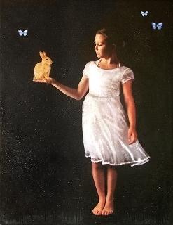 , 'The Golden Rabbit,' 2017, Bill Lowe Gallery