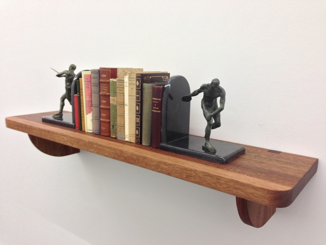 , 'Serial Killer Bookshelf,' 2013, Barbara Gross