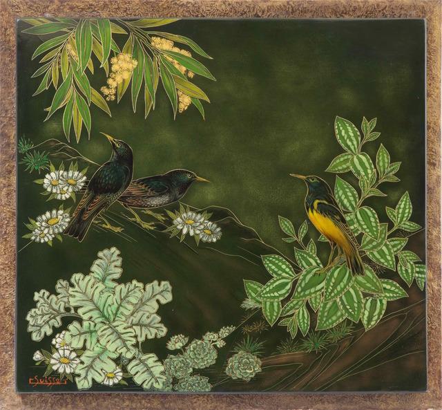 , 'African Blackbirds,' , Galerie Dumonteil