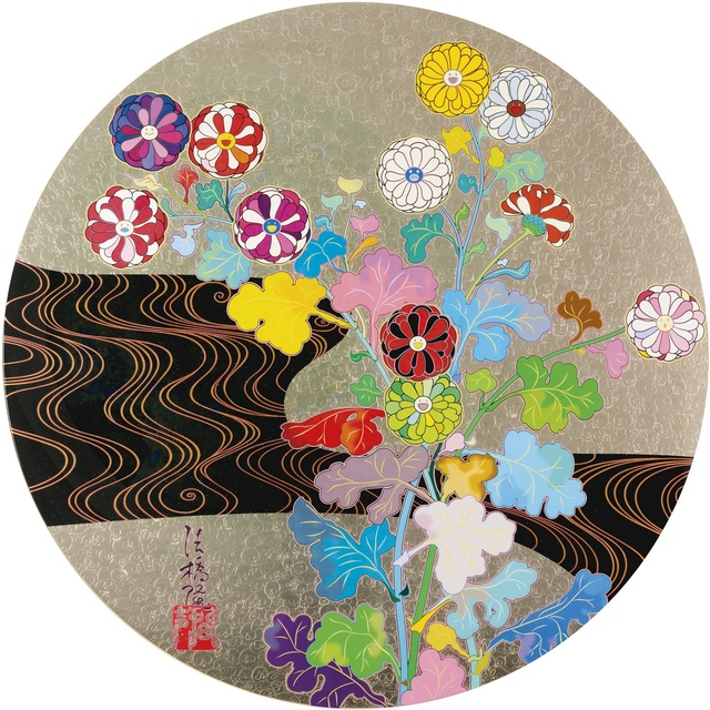 Takashi Murakami, 'Kansei: Voice of The Mountain Stream ', 2014, Print, Offset printing with 4 colors and foil printing and coater varnish, Lougher Contemporary