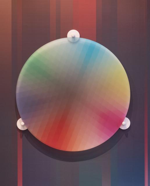 , 'Subtractive Variability Circular 2,' 2018, Joshua Liner Gallery