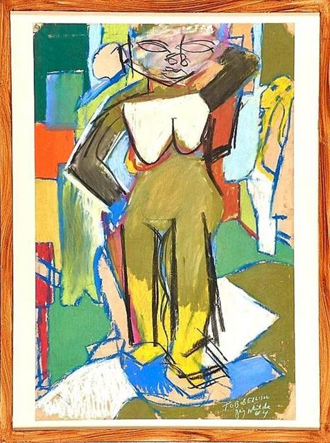 Jay Milder, 'Rare 1964 Figurative Abstraction piece (Subway Series)', 1960-1969, Lions Gallery